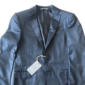 Canali NWT steel grey suit jacket